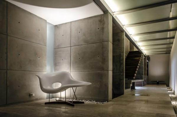 xafix house arkylab oscar hernandez 10 600x396 Xafix House by Arkylab is a Contemporary Concrete Hideaway
