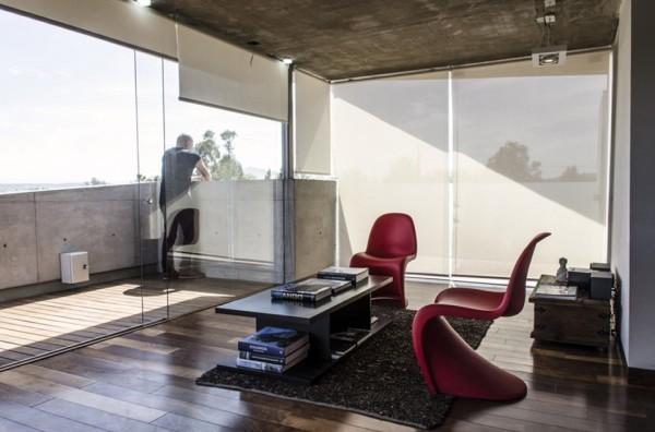xafix house arkylab oscar hernandez 11 600x396 Xafix House by Arkylab is a Contemporary Concrete Hideaway