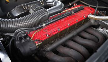 1980 BMW M1 AHG Studie engine