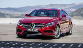 2015 Mercedes Benz CLS 1 345x200 2015 Mercedes Benz CLS Four Door Coupe Gets Facelifted