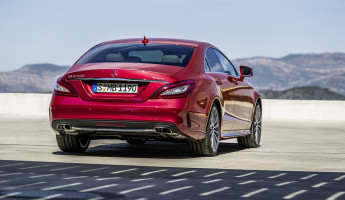 2015 Mercedes Benz CLS 2 345x200 2015 Mercedes Benz CLS Four Door Coupe Gets Facelifted