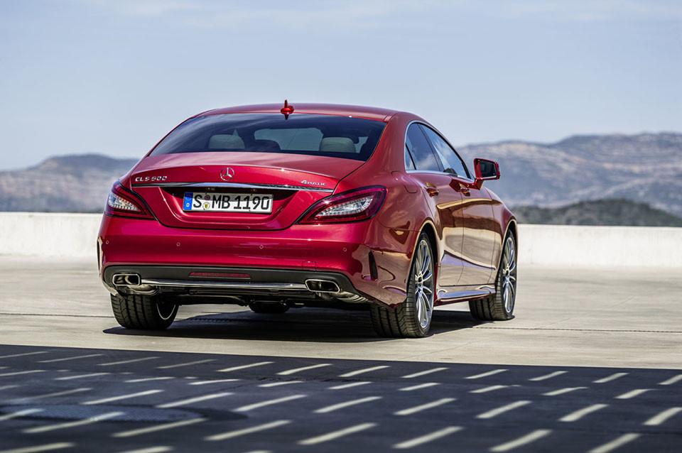 2015 Mercedes-Benz CLS 2