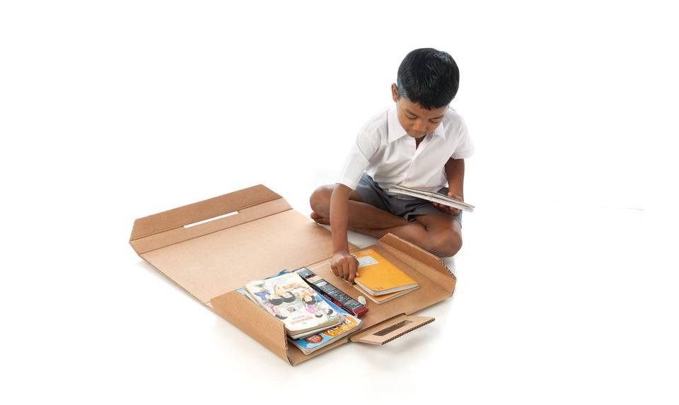 Aarambh Helpdesk Cardboard Desk 3