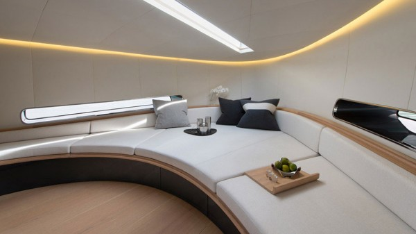 Alen 68 Yacht bed