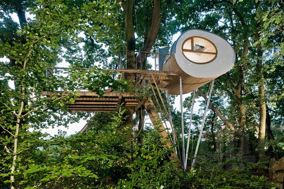 Baumraum Treehouse Djuren 1