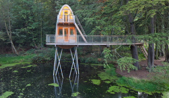 Baumraum Treehouses Reveal Two New Elevated Escapes