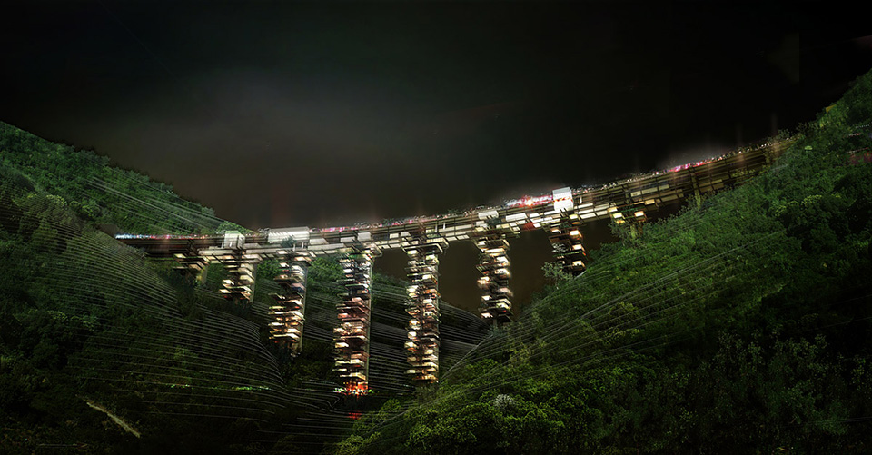 Futuristic Cities: Bridge Cities of Italy 1