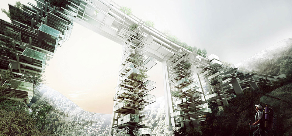 Futuristic Cities: Bridge Cities of Italy 3