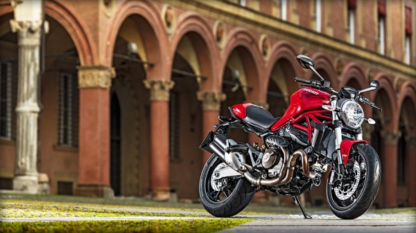 Ducati Monster 821 Motorcycle 3