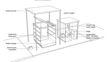 Kickstarter Project Turns Wastebin into High Tech Dumpster House