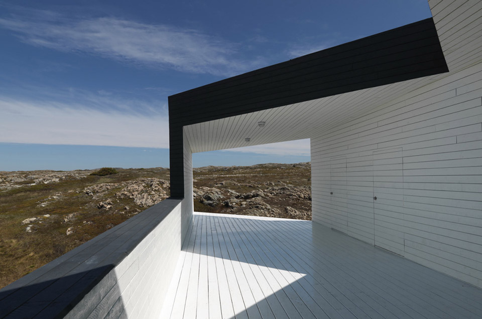 Fogo Island Long Studio by Saunders Architecture 3
