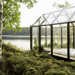 Contemporary Cabins - Glass Garden Shed 4
