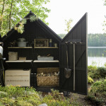 Contemporary Cabins - Glass Garden Shed 5