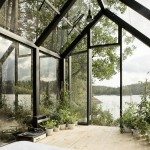 Contemporary Cabins - Glass Garden Shed 3
