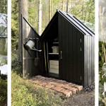 Contemporary Cabins - Glass Garden Shed 2