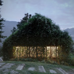 Contemporary Cabins - Green Box Overgrown Wilderness Studio