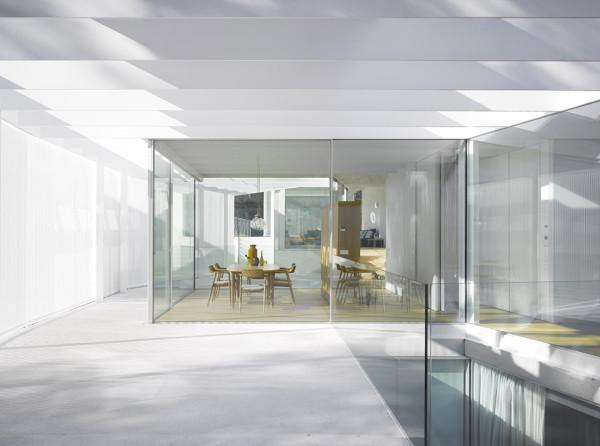 Labyrinth House interior