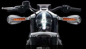 Harley Davidson Livewire Electric Motorcycle headlights