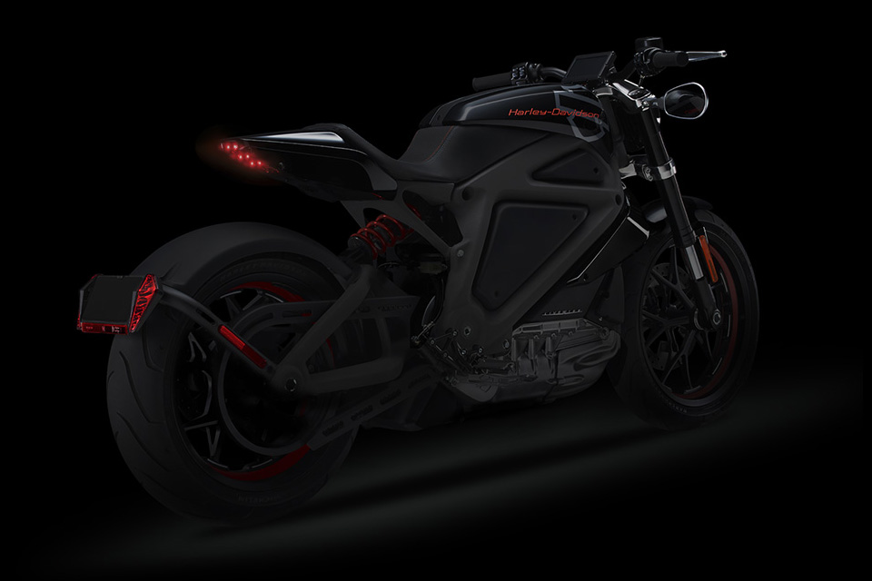 Harley Davidson Livewire Electric Motorcycle 3