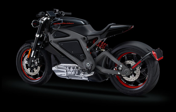Harley Davidson Livewire Electric Motorcycle 7