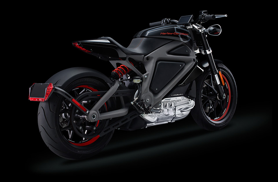 Harley Davidson Livewire Electric Motorcycle 9