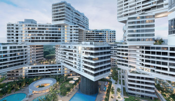 OMA Interlace Building hero