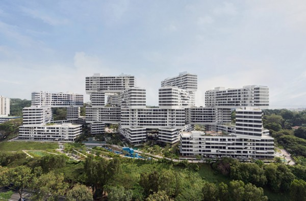 OMA Interlace Building approach