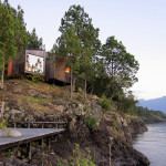Contemporary Cabins - Lakefront Sauna by Panorama Arquitectos 3