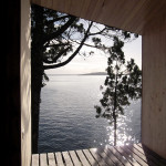 Contemporary Cabins - Lakefront Sauna by Panorama Arquitectos 5