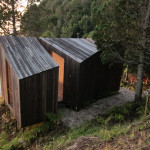 Contemporary Cabins - Lakefront Sauna by Panorama Arquitectos 2