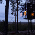 Contemporary Cabins - Mirror Cube at TreeHotel Sweden 2
