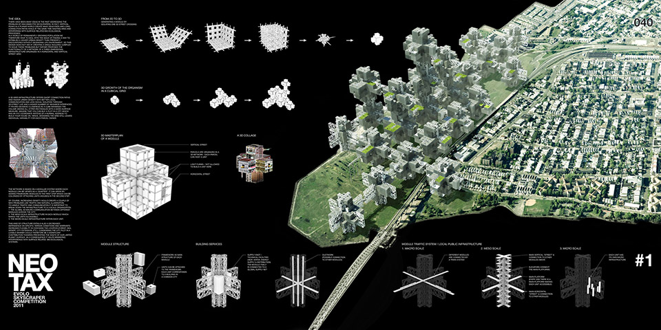 Futuristic Cities: Neotax CityGrid