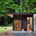 Contemporary Cabins - Olson Kundig Architects Gulf Island Cabin 1