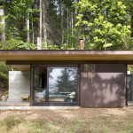 Contemporary Cabins - Olson Kundig Architects Gulf Island Cabin 2
