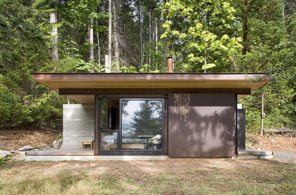 Olson Kundig Architects Gulf Island Cabin 2