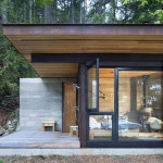 Contemporary Cabins - Olson Kundig Architects Gulf Island Cabin 4