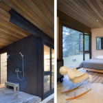 Contemporary Cabins - Olson Kundig Architects Gulf Island Cabin 5
