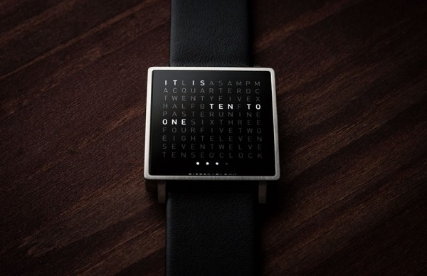 Fathers Day Gift Guide 2014 Qlocktwo-W-Watch-4