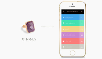 Ringly smart ring main