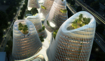 Futuristic Cities: Shan Shui City 2