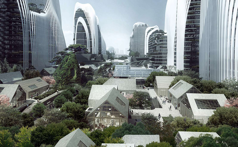Futuristic Cities: Shan Shui City