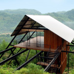 Contemporary Cabins - Sri Lanka Forest Bungalow by Narein Perera 1