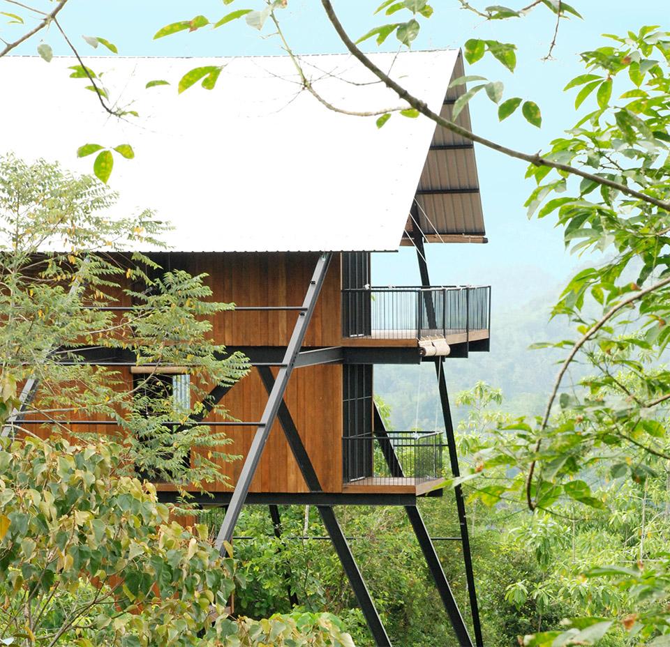 Sri Lanka Forest Bungalow by Narein Perera 6