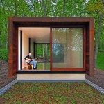 Contemporary Cabins - Studio for a Composer for Johnsen Schmaling Architects 4