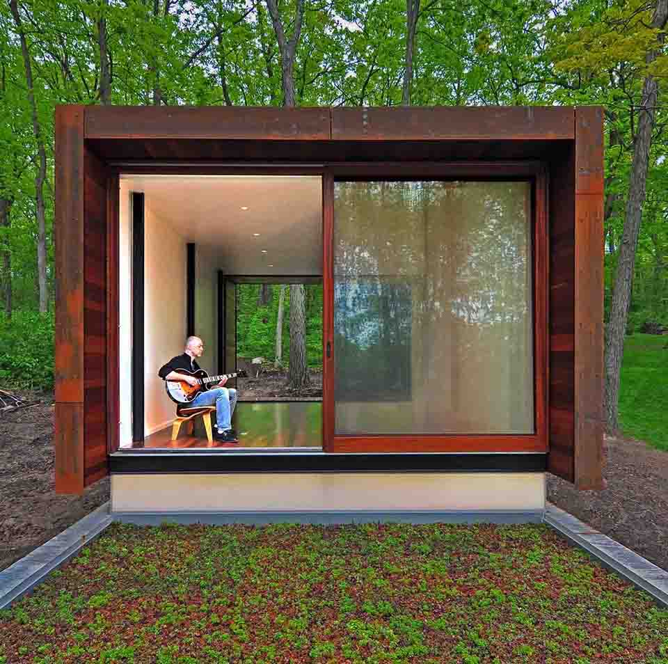 Studio for a Composer for Johnsen Schmaling Architects 5