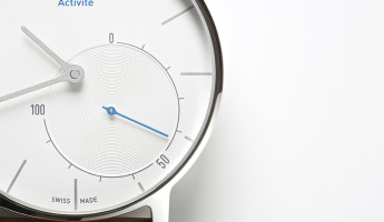 Withings Activité Fitness Tracker Watch 2 345x200 Withings Activité Fitness Watch is Classically Cool