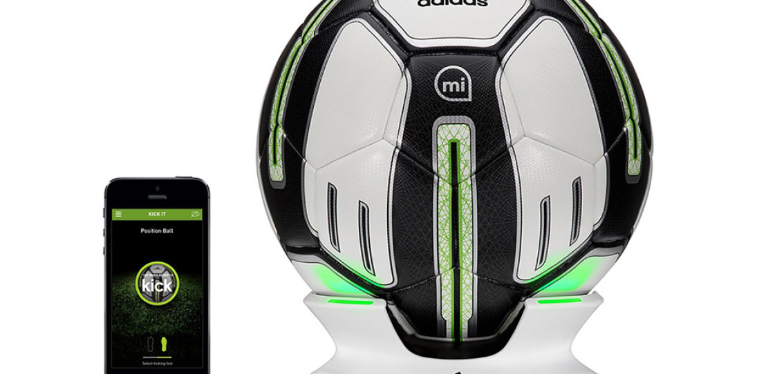 adidas miCoach SMART BALL fitness tracker soccer ball 3