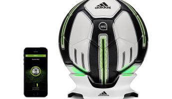 adidas miCoach SMART BALL fitness tracker soccer ball 3
