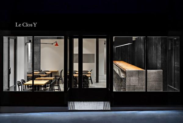 le clos y antoine duhamel 1 600x405 Le Clos Y: Paris Restaurant Design Masterpiece by Daï Sugasawa