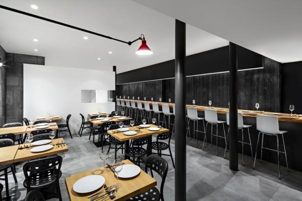 le clos y antoine duhamel 7 600x400 Le Clos Y: Paris Restaurant Design Masterpiece by Daï Sugasawa